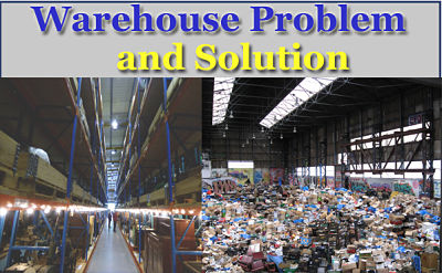 Warehouse Problem and solution