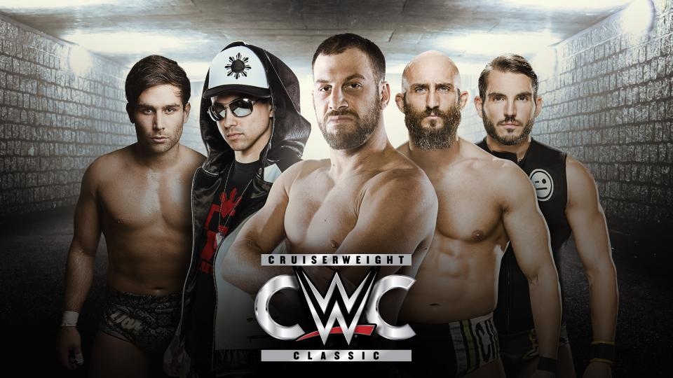 WWE Cruiserweight Classic tourney poster
