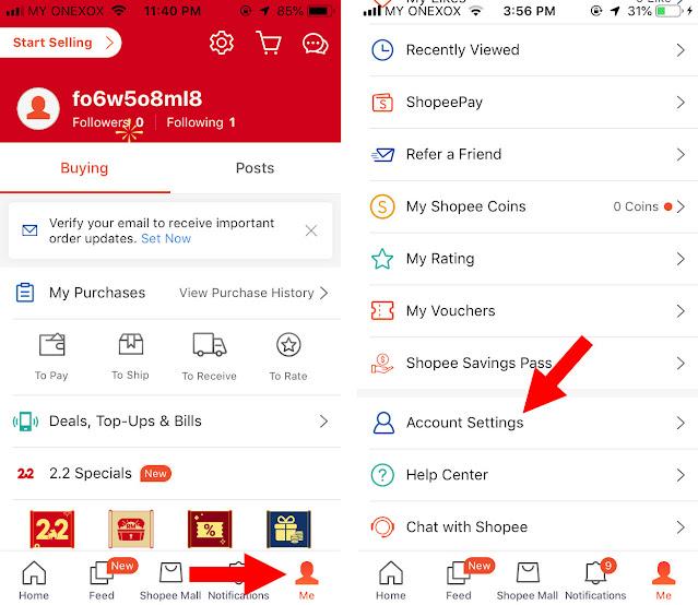 Cara Daftar Akaun Shopee Kepada New Customer Untuk Tahun 2021