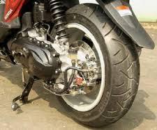 Nih Resikonya Kalau Motor Matic Pakai Ban Lebar