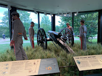 Wilsons Creek battlefield artillery
