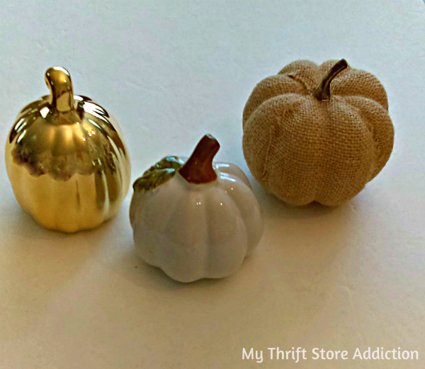 upcycled dollar store pumpkins