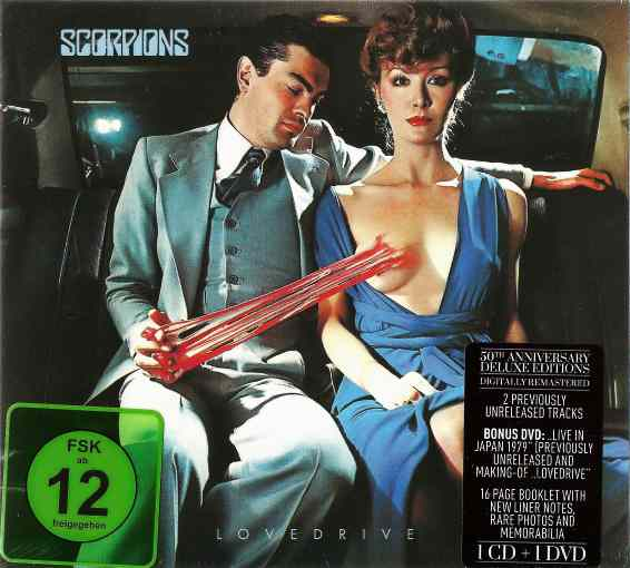 SCORPIONS - Lovedrive (50th band anniversary Deluxe Edition) full
