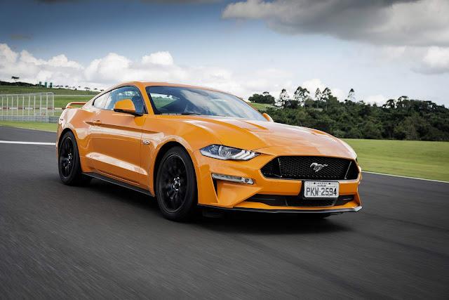 Ford Mustang GT 2019 - Brasil