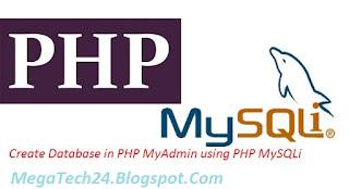PHP MySQLi Database Creation
