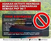 Aktiviti Memancing Tidak Dibenarkan Ketika PKP
