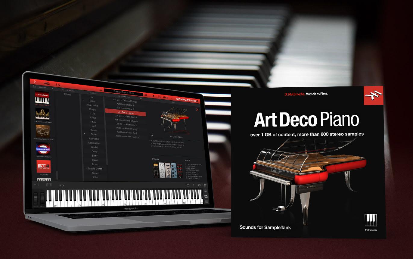 IK Multimedia Giveaway - Art Deco Piano for SampleTank