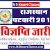 Rajasthan Patwar Bharti 2019  : Notification, Apply Online, Syllabus, Exam Pattern, Admit Card, Question Paper, Answer Key, Result | राजस्थान पटवार सीधी भर्ती 2019