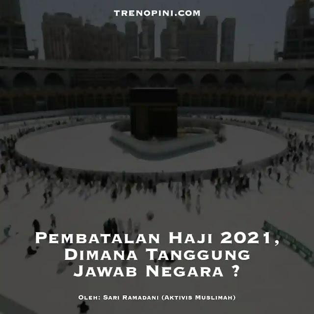 Pemerintah resmi membatalkan keberangkatan jemaah haji 2021. Hal itu dituangkan dalam Keputusan Menag No. 660/2021 tentang Pembatalan Keberangkatan Jemaah Haji pada Penyelenggaraan Ibadah Haji Tahun 1442 Hijriah/2021 Masehi.