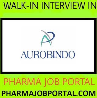 AUROBINDO PHARMA LIMITED  Walk In Drive at 14  July