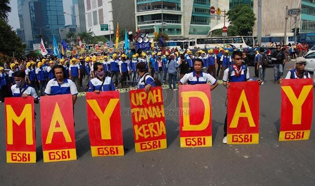 May Day Besok, Menanti Arahan Kontrak Politik Prabowo