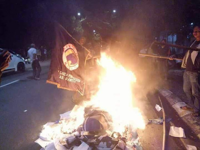 Atribut Partai Nasdem Dibakar, Kader Bantaeng Minta RMS Dicopot