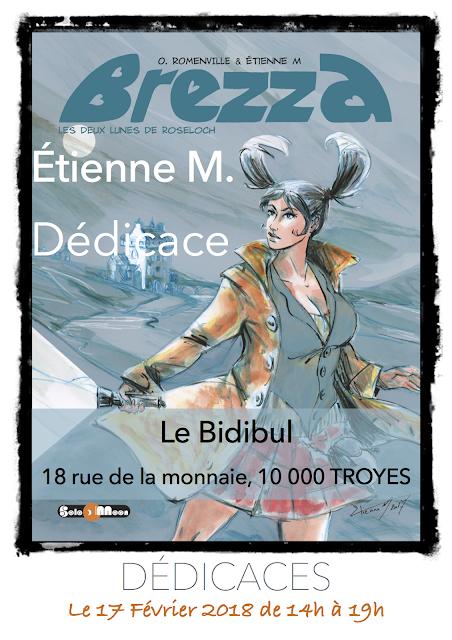 """Dédicaces au """"Bidibul"""" de Troyes"""