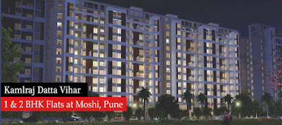 1 Bhk Flat In Moshi At Kamalraj Datta Vihar