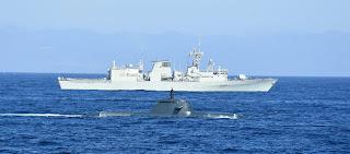 """بمشاركة تركيا.. انطلاق مناورات """"الناتو"""" البحرية في إيطاليا"""