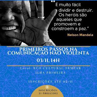 3 nov, 14h: Primeiros passos na Comunicação Não Violenta