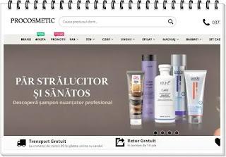 procosmetic.ro pareri magazin online cosmetice originale profesionale