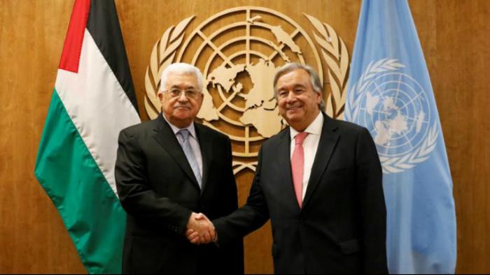 Palestine: Abbas et Guterres réitèrent leur soutien à la solution de deux Etats