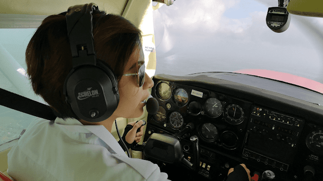 How old do you have to be to take flying lessons?