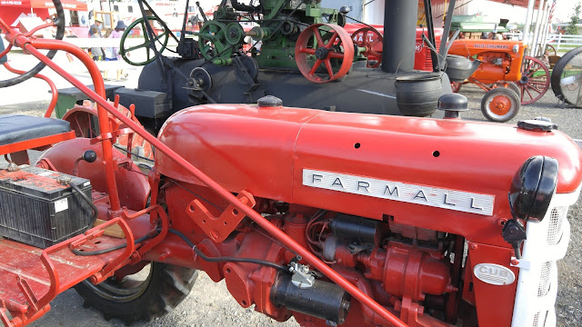 Farmall tractor at the fair
