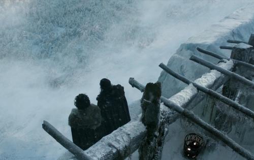 Game of Thrones, muuri