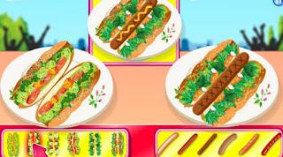Cuộc thi làm bánh hotdog hay