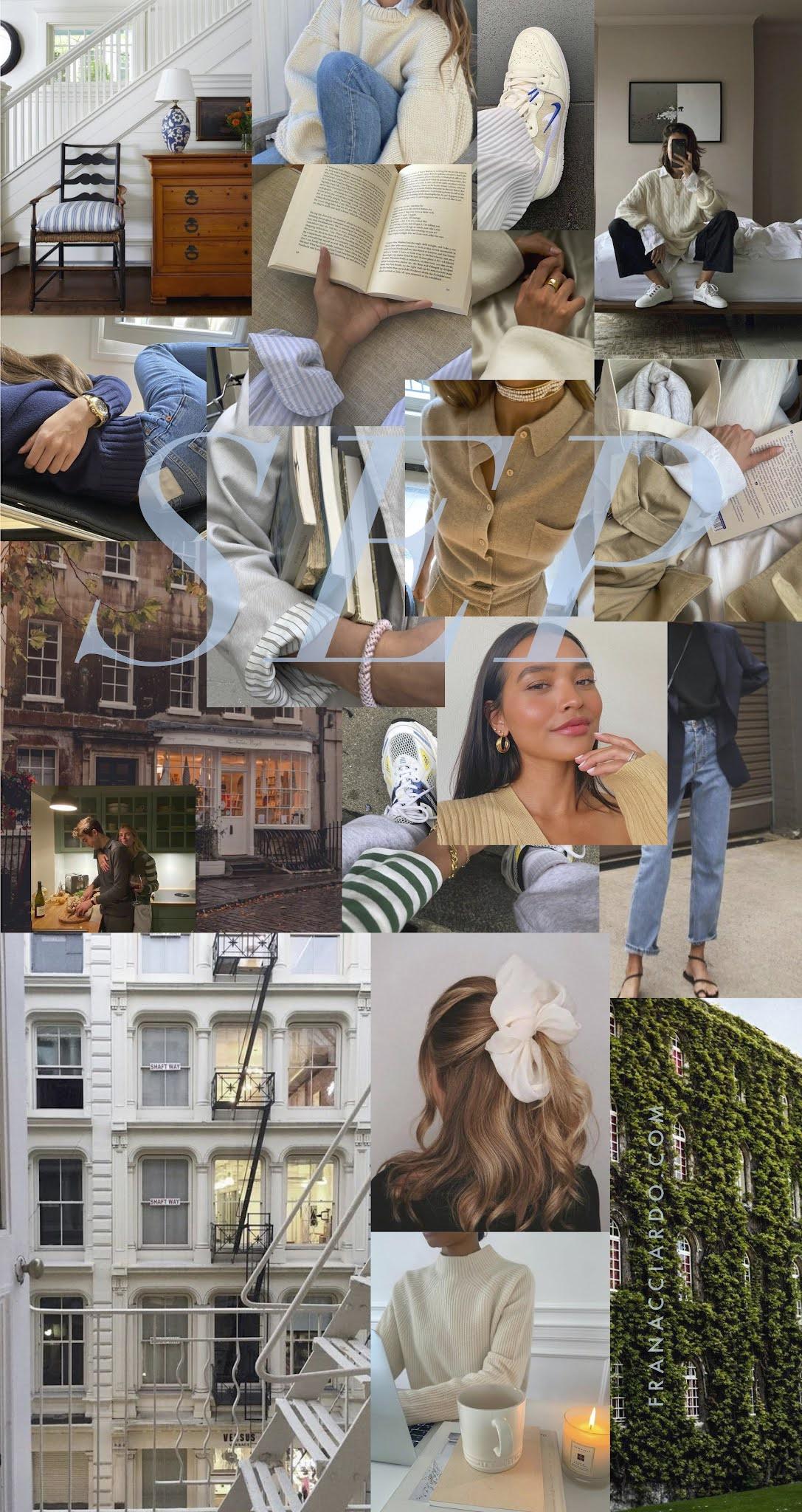 fran acciardo 2021 September Mood Board (Desktop + iPhone Wallpaper)