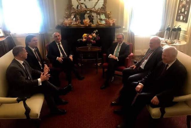 Cancilleres de Armenia y Azerbaiyán se reunieron en Washington