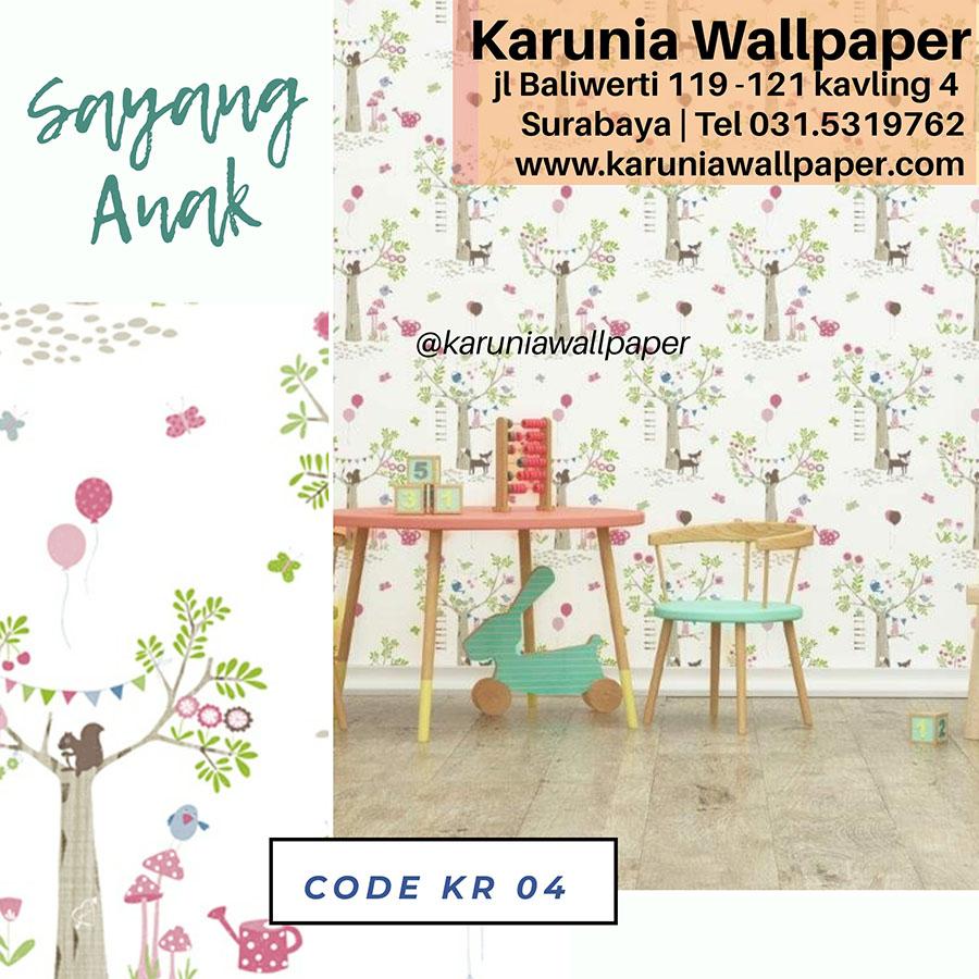 wallpaper dinding ruang anak