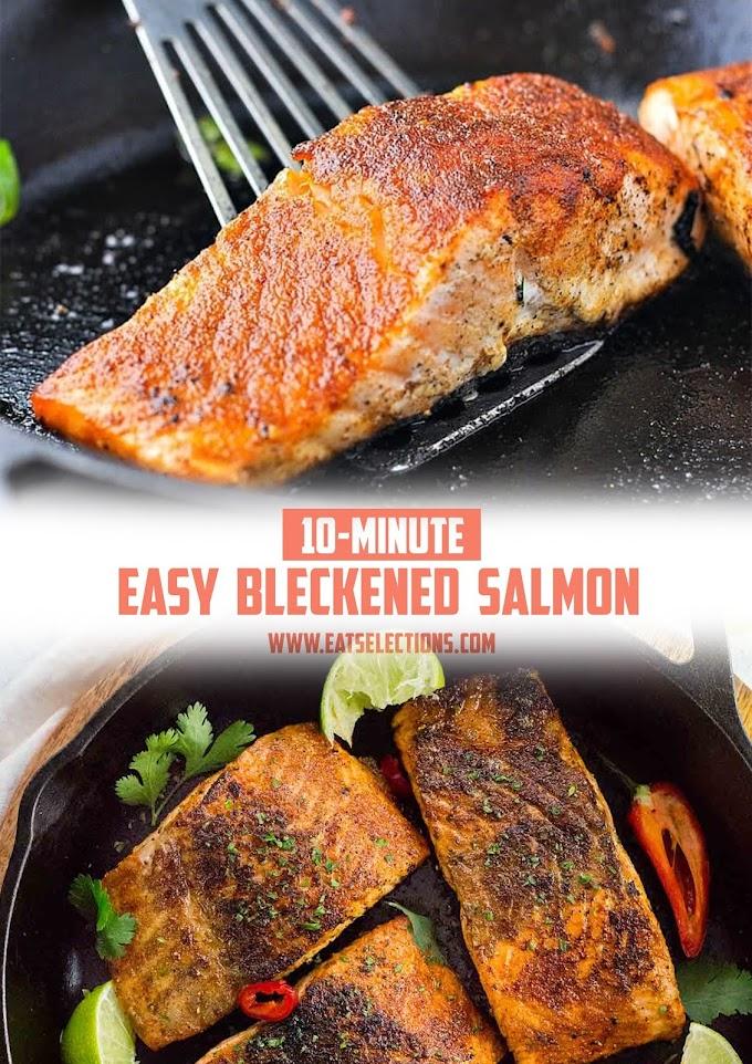 NEW Easy Bleckened Salmon