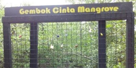 Gembok Cinta Mangrove