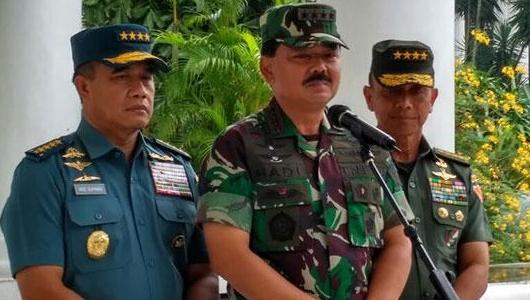 Jika Gagal Atasi Karhutla, Panglima TNI Copot Anak Buahnya