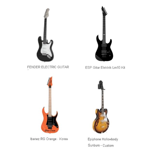 Harga Gitar Berkualitas