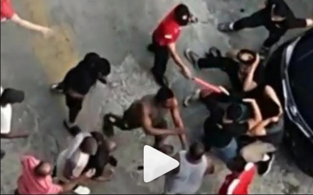 Ngeri! 80 WN Nigeria Keroyok 4 Anggota Polisi di Jakarta Barat, Ini Videonya