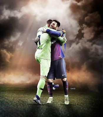 The Saviours of Barcelona 💓💓 #messi