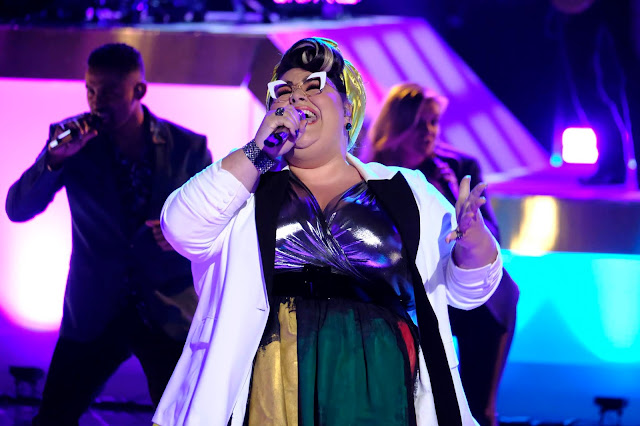 Video Interview: Katie Kadan from Team Legend talks performing on 'The Voice'