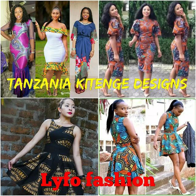 Tanzania Kitenge Designs Lyfofashion