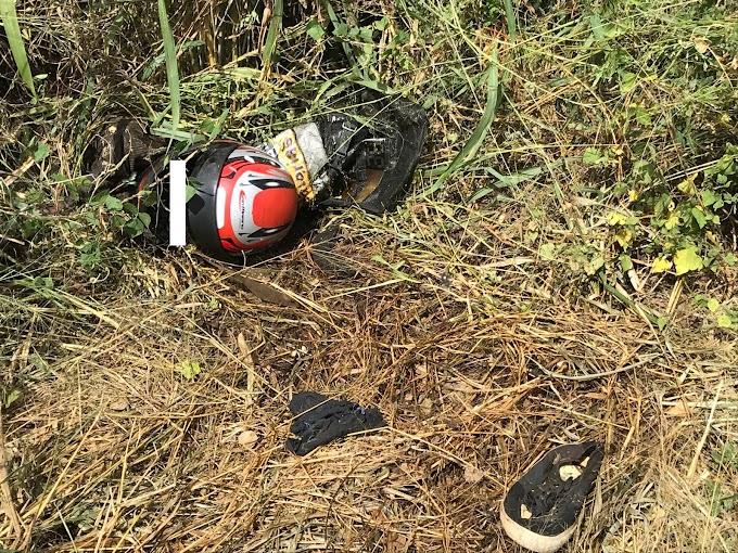 Corpo de popular de Ipaumirim no CE, mas que trabalhava de mototaxista em Cajazeiras é encontrado em estado de putrefação em barranco na BR 230