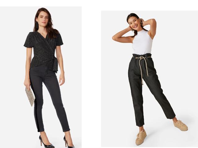 Como usar a calça preta em vários looks