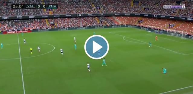 Valencia vs Real Madrid Live Score