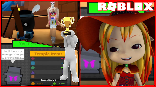 Roblox Temple Thieves Gameplay! Making all 3 Levels! Easy, Medium and Hard!