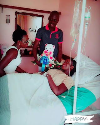 Esther Akoth aka Akothee in triple tragedy with her family in hospital