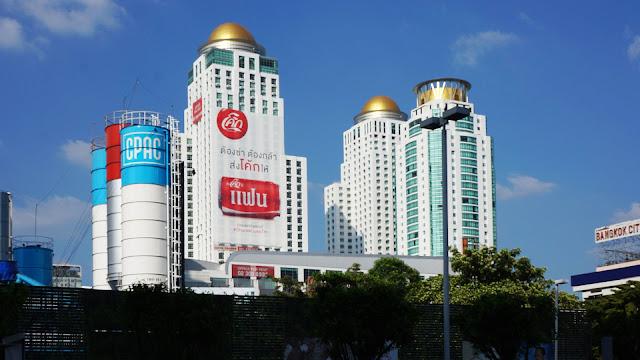 Изображение высотных зданий в Бангкоке