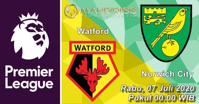 Prediksi Watford Vs Norwich City, Rabu 08 Juli 2020 Pukul 00.00 WIB @ Mola TV
