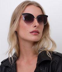 f161ad9112467 Óculos de sol gateado feminino com proteção UVA e UVB por apenas R  19,90  na loja virtual da RENNER !!! Eu já comprei o meu kkk. Gostou  Corre lá!