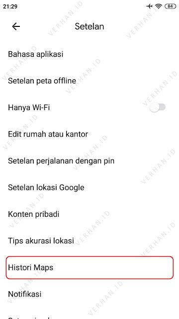 histori google maps
