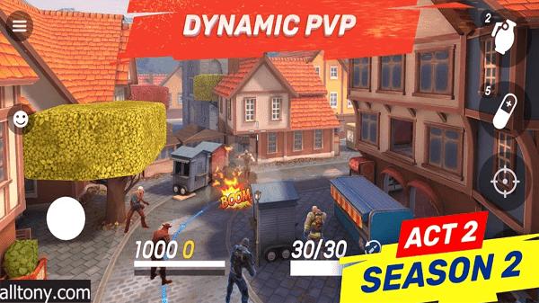 تحميل لعبة Gods of Boom - Online PvP Action للأيفون والأندرويد