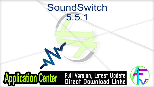 SoundSwitch 5.5.1