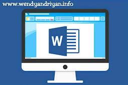 Cara Menyimpan Dokumen Yang Sudah Dibuat Pada Microsoft Word