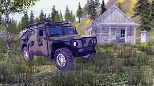 4x4 Russion SUVs Offroad 2